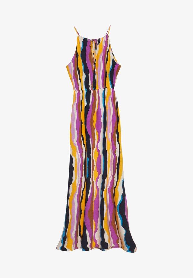 Vestido largo - multicolor