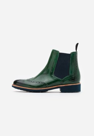 SELINA 6 - Ankle boots - pine/navy