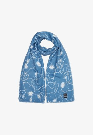MIT PEANUTS PRINT - Scarf - light blue placed print