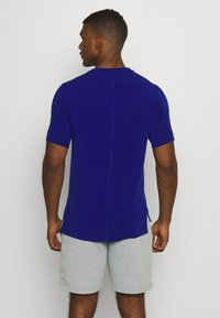 Nike Performance - DRY YOGA - T-shirt basic - deep royal blue/black - 2