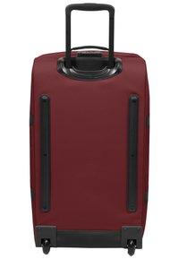 Eastpak - TRANVERZ M - Wheeled suitcase - brisk burgundy - 4