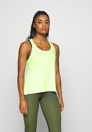 KNOCKOUT TANK - Sports shirt - lime fizz