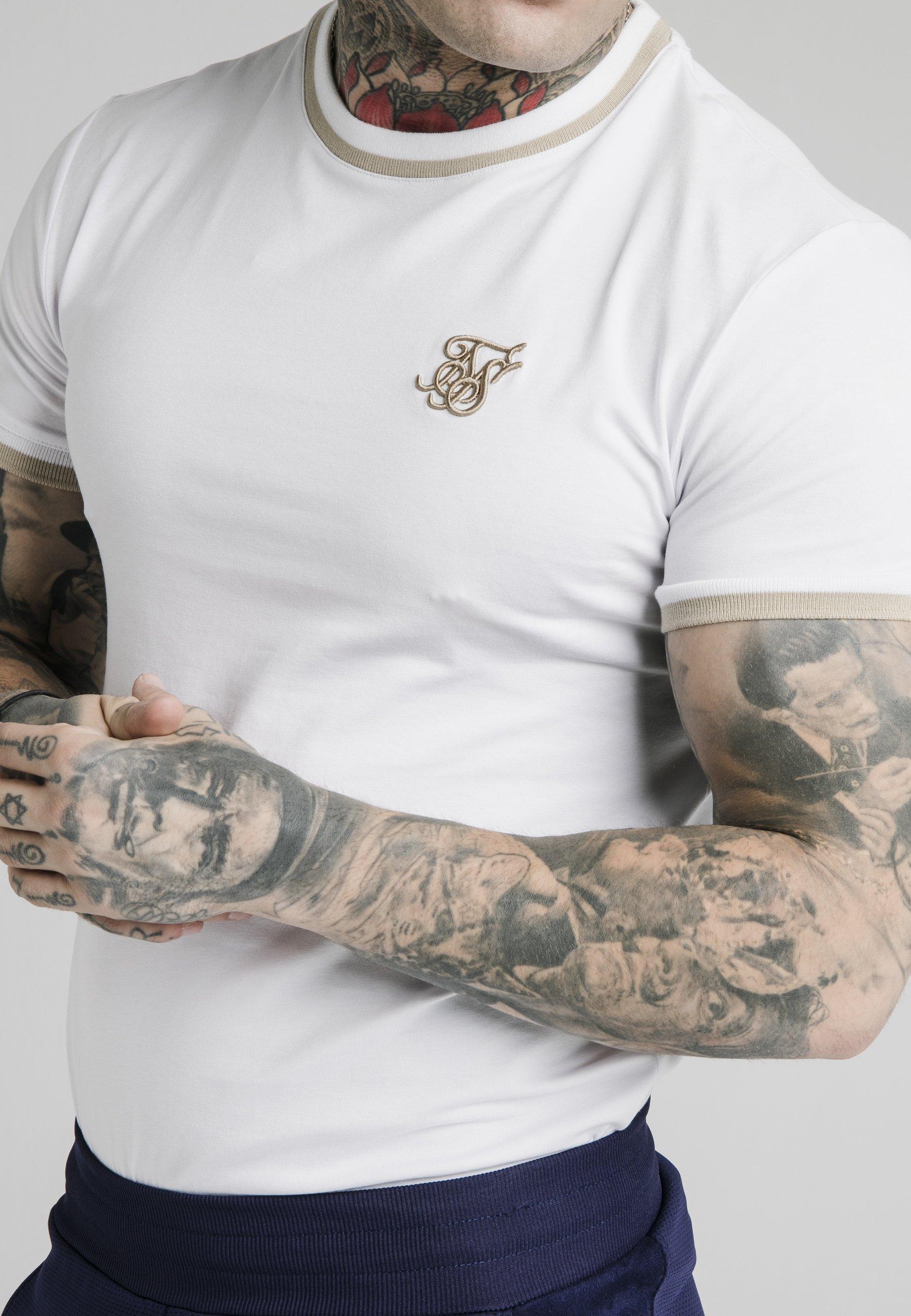 Men YARN TEE - Basic T-shirt