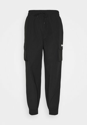 TRACKSUIT BOTTOM - Tracksuit bottoms - black