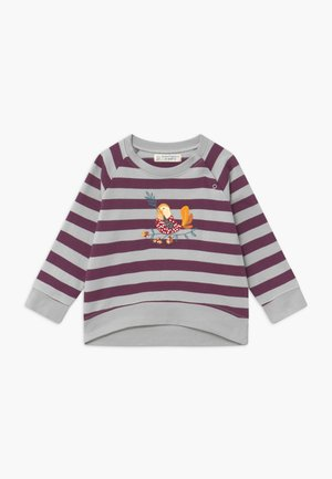 LEOTIE BABY - Sweater - purple/grey