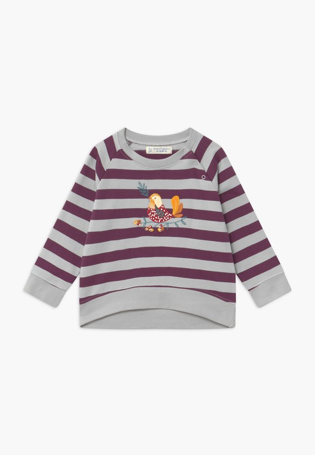 LEOTIE BABY - Sweatshirt - purple/grey