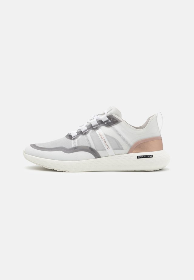 ZEROGRAND OUTPACE RUNNER - Sneakers - optic white/nimbus cloud/rose gold metallic