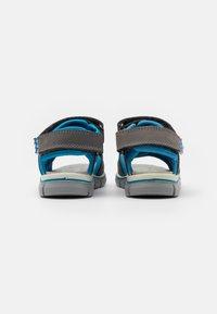 Primigi - Sandals - grigo scuro/azzurro - 2