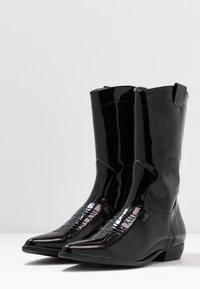 E8 BY MIISTA - MILA - Cowboy/Biker boots - black - 4