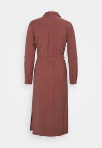 ONLY - ONLNEW ARIS LIFE DRESS  - Vestido camisero - apple butter - 1