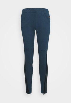 ADIDAS SPORTSWEAR 3-STRIPES SKINNY PANTS - Pantalones deportivos - crenav/hazblu
