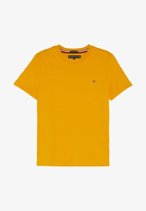 ESSENTIAL ORIGINAL TEE - Print T-shirt - yellow