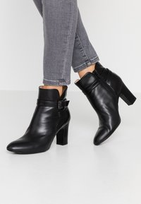 Unisa Wide Fit - UMBRIAWD - Ankle Boot - black - 0