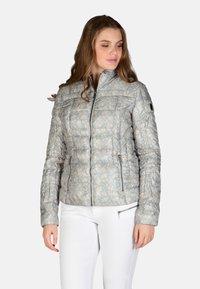 Cero & Etage - Winter jacket - blue print - 0