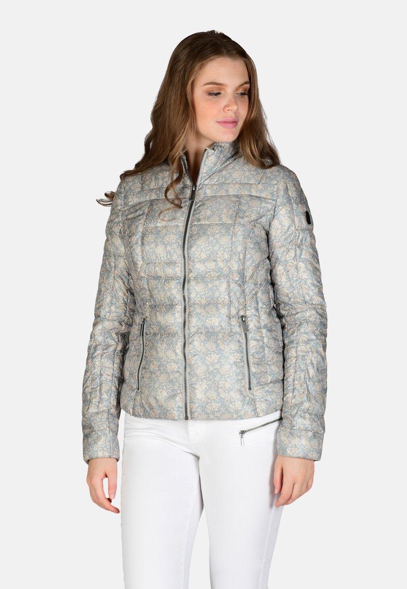 Cero & Etage - Winter jacket - blue print