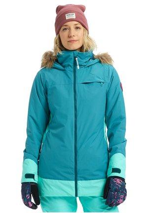 Veste de ski - green-blue slate/cockatoo