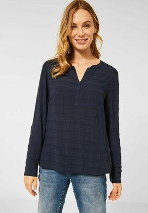 STREIFEN LOOK - Long sleeved top - blau