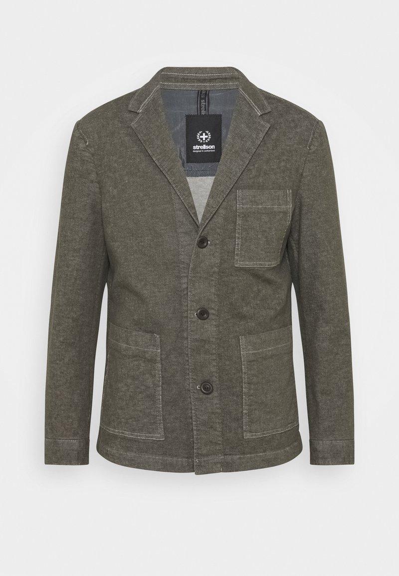 Strellson - DAVIN - Denim jacket - medium green