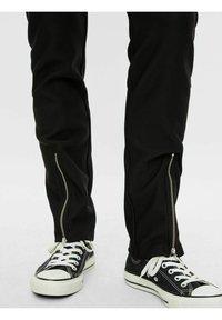 Pieces - Trousers - black - 5