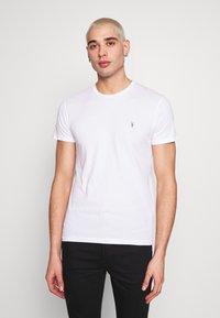 AllSaints - TONIC CREW 3 PACK - Basic T-shirt - optic/black/grey - 3