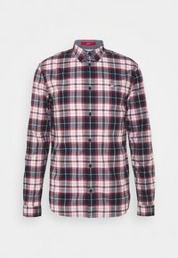 Tommy Jeans - STRETCH CHECK POPLIN  - Skjorta - red/white/dark blue - 0