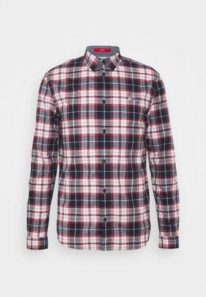 STRETCH CHECK POPLIN  - Shirt - red/white/dark blue