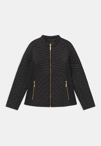 Barbour - GIRLS FORMATION QUILT - Light jacket - black - 0