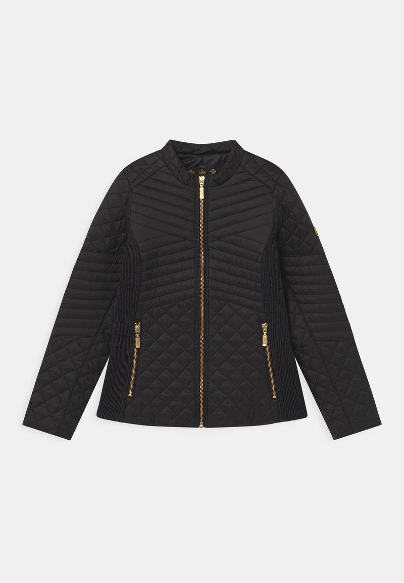 Barbour - GIRLS FORMATION QUILT - Light jacket - black
