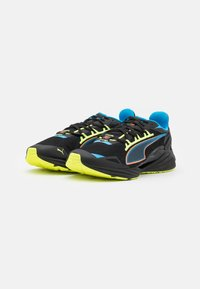 Puma - ULTRARIDE FM XTREME UNISEX - Zapatillas de running neutras - black/nrgy blue/ultra orange - 1