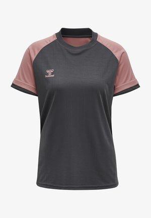 Sports shirt - asphalt/dusty rose