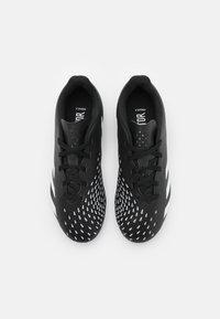 adidas Performance - PREDATOR FREAK .4 FXG UNISEX - Korki Lanki - core black/footwear white - 3