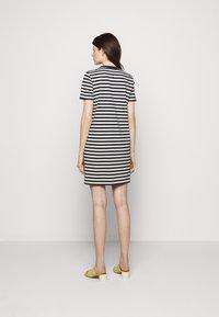 Tory Burch - LOGO DRESS - Jersey dress - tory navy/new ivory - 2