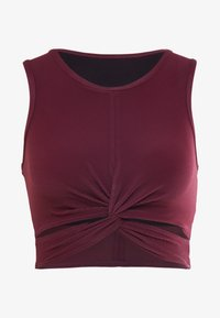 Onzie - FRONT TWIST CROP - Top - purple - 4