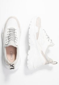 ONLY SHOES - ONLSILVA CHUNKY - Joggesko - white - 3