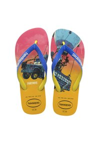 Havaianas - TOP FORTNITE - Pool shoes - yellow, blue - 2