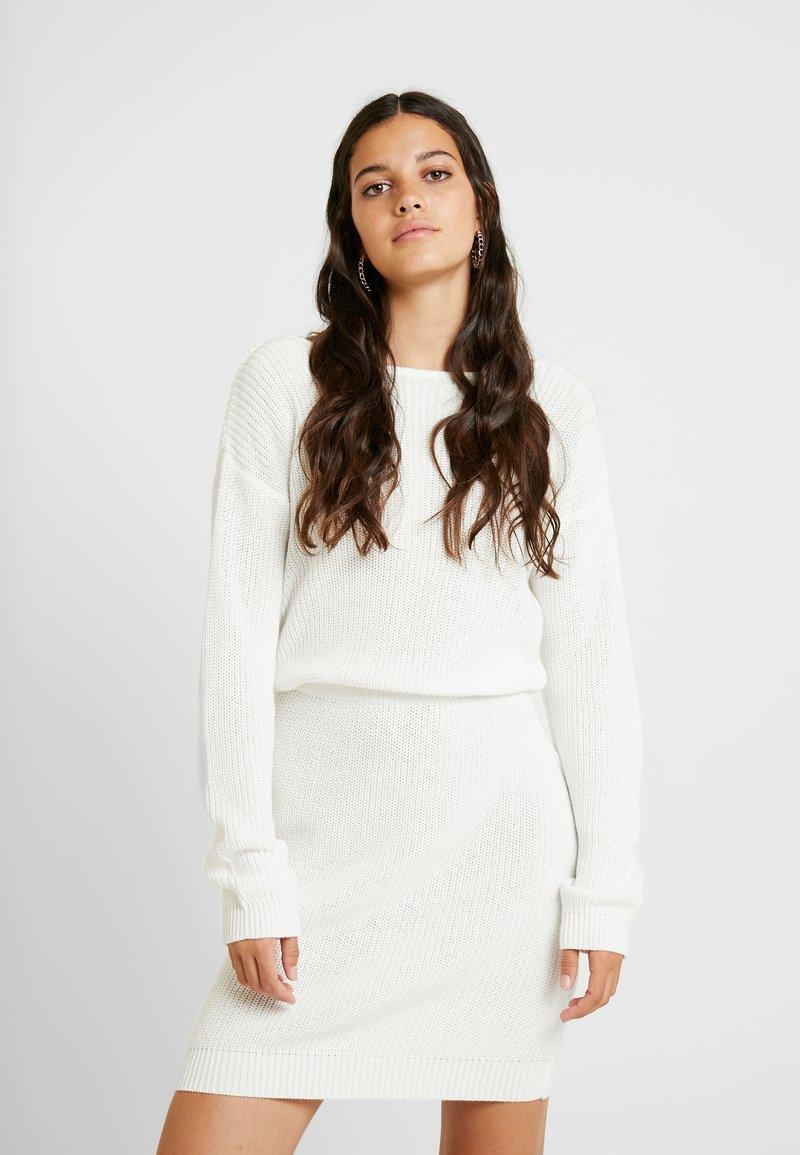 Even&Odd - Strikket kjole - off-white