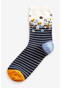 Next - FLORAL ANKLE SOCKS 5 PACK - Socks - blue - 2