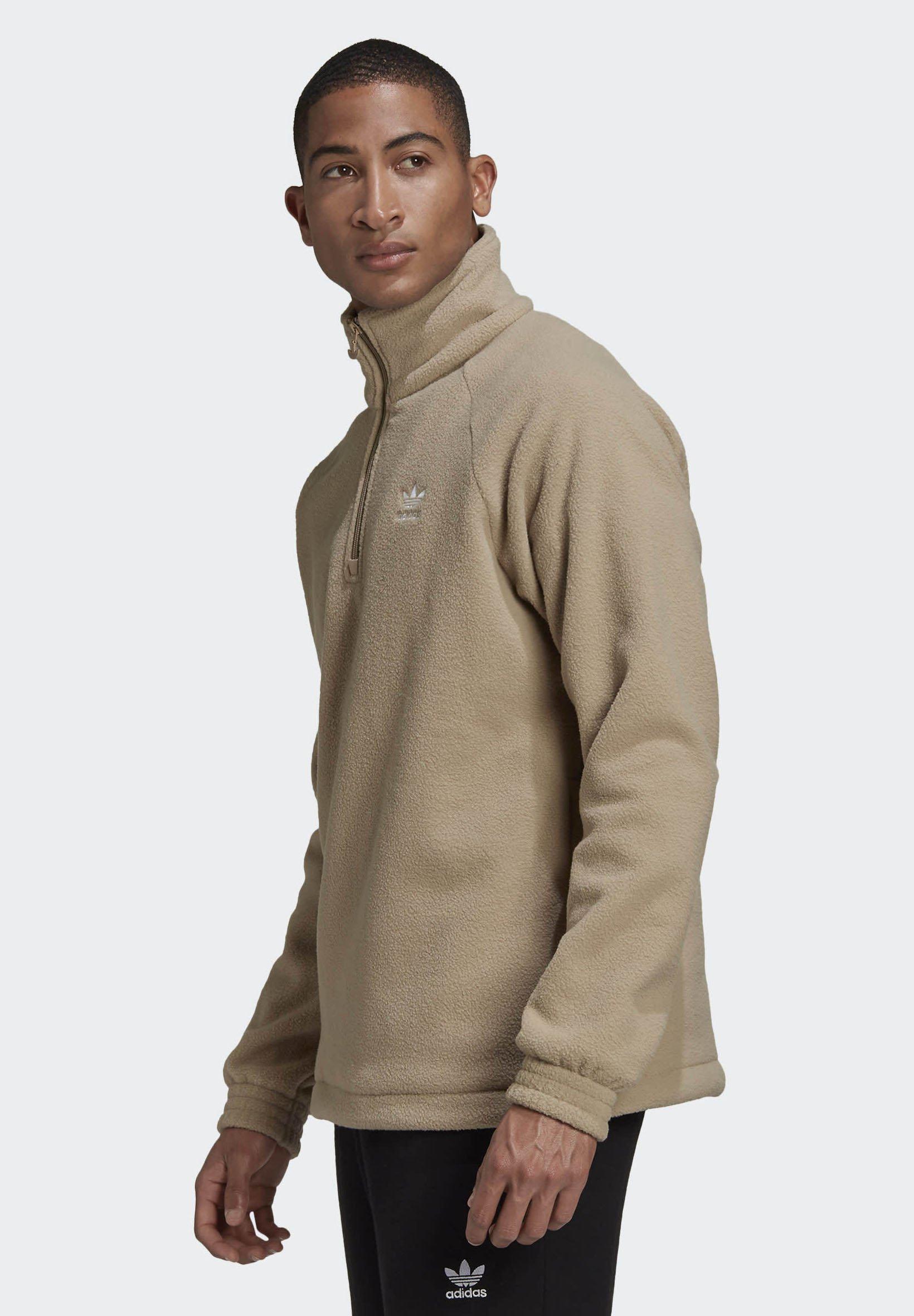 adidas Originals Fleecegenser brown Zalando.no