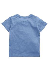 Next - SHORT SLEEVE - T-shirt basic - blue - 1