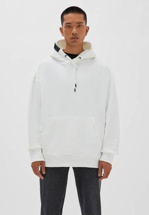 Bluza z kapturem - white