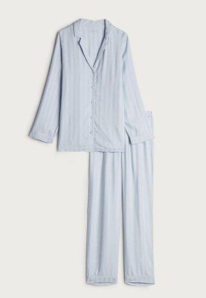 PYJAMA AUS GESTREIFTEM MODAL - Pyjama set - blue water