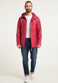 Schmuddelwedda - Waterproof jacket - rot - 1