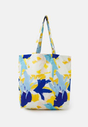 PRINT UNISEX - Tote bag - multicoloured/blue/orange