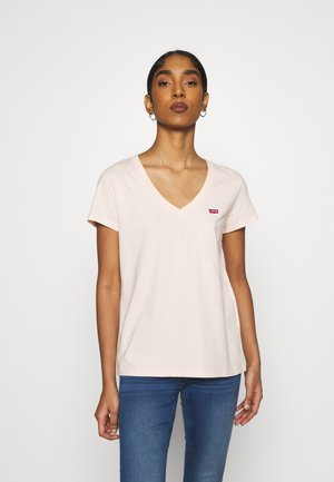 PERFECT V NECK - T-shirt basic - scallop shell