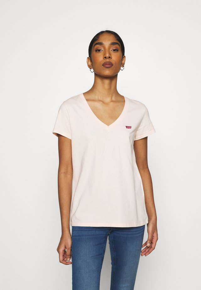 PERFECT V NECK - Basic T-shirt - scallop shell
