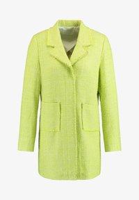 Gerry Weber - Short coat - light lime off white gemustert - 0
