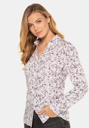 Button-down blouse - altrose
