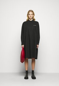 MM6 Maison Margiela - Shirt dress - black - 1
