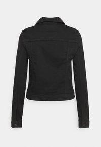 Vero Moda - VMTINE SLIM JACKET - Denim jacket - black denim - 1