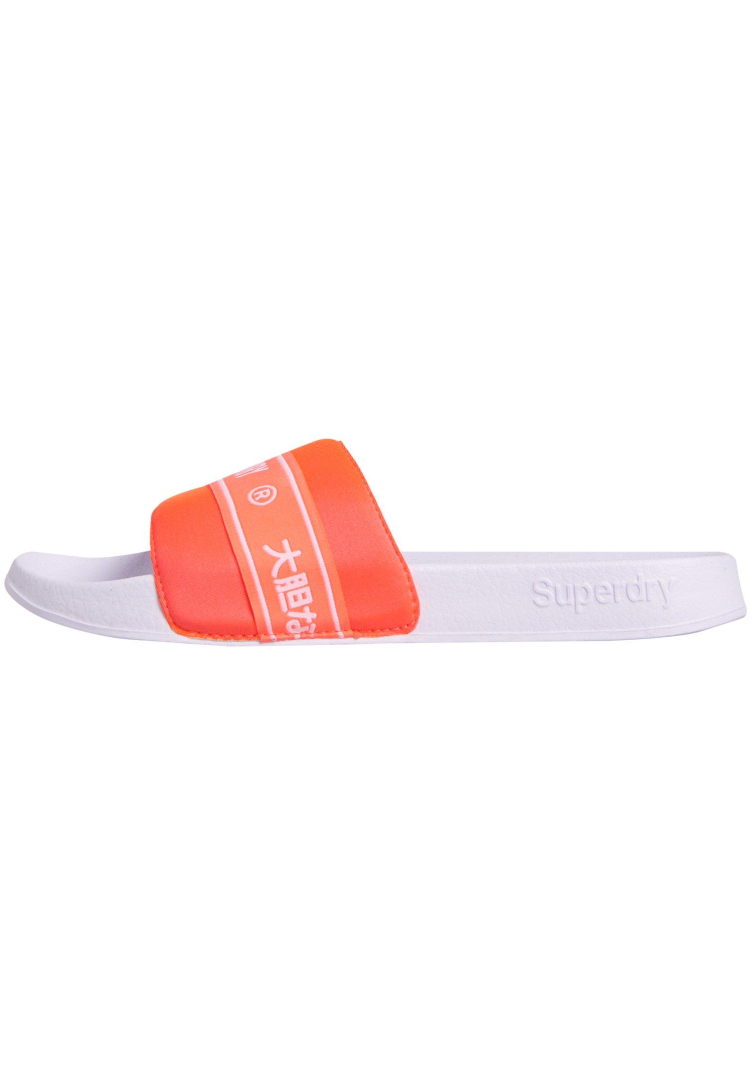 Women TAPE POOL SLIDERS - Slippers